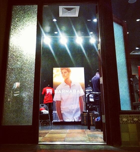 Barnabas Clothing Co. Store is now open at the Paseo Colorado in