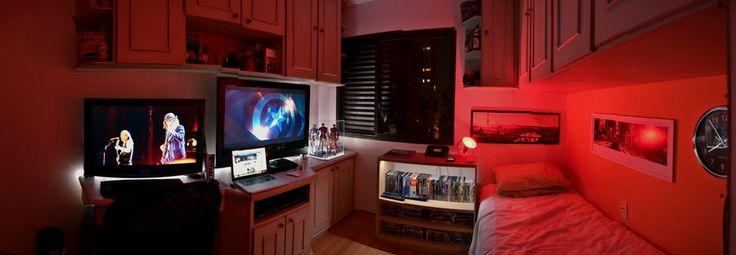 Amazing geek bedroom bedroom ideas pinterest for Geek bedroom ideas