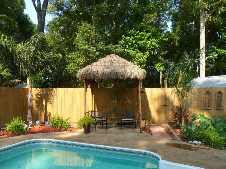 Diy outdoor tiki hut using repurposed materials fresh and for Making hut with waste material