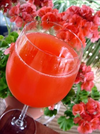 Peach Mimosa - or maybe try peach flavored snapple and chammpagne