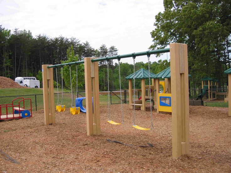 Playground swings | Benches, Chairs, & Swings | Pinterest