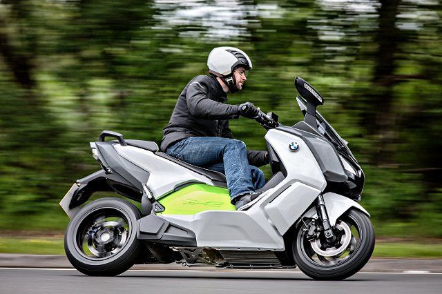 BMW's new electric scooter