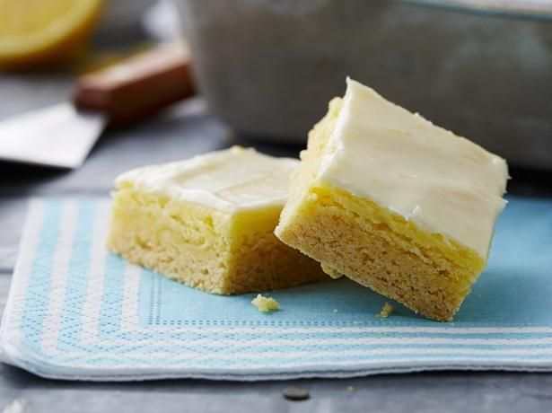 Lemon Cheesecake Bars, sub a gluten free cake mix and add more lemon ...
