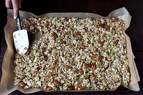 Nekisia Davis' Olive Oil and Maple Granola recipe from Food52
