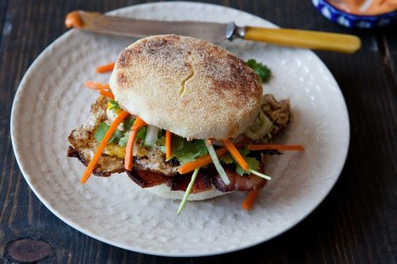 Bánh Mì-Inspired Breakfast Sandwich, a recipe on Food52