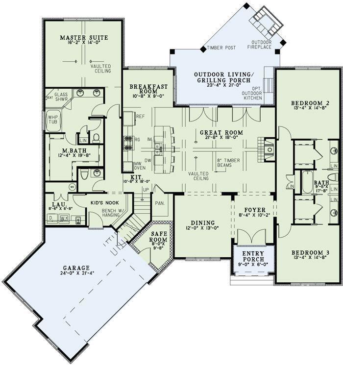Craftsman European House Plan 82166