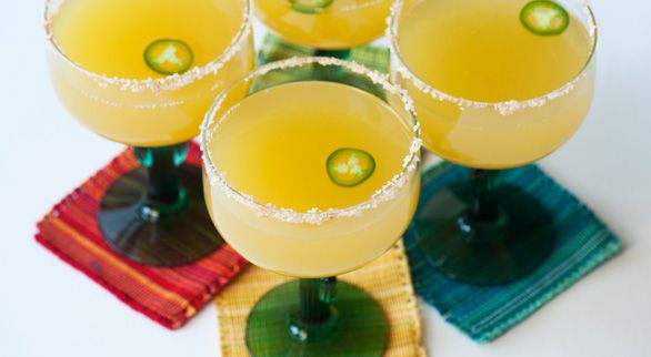 Spicy Pineapple Margarita. Okey dokey!