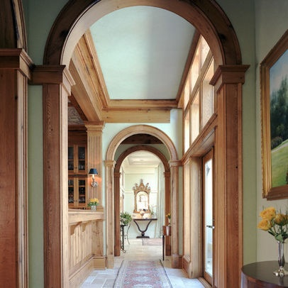 Natural Wood Trim And Painted Walls Home Ideas Pinterest