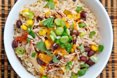 Crockpot Chicken Santa Fe | Recipe