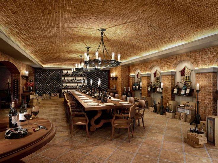 Underground wine cellar design ideas wine pinterest for Wine cellar design ideas