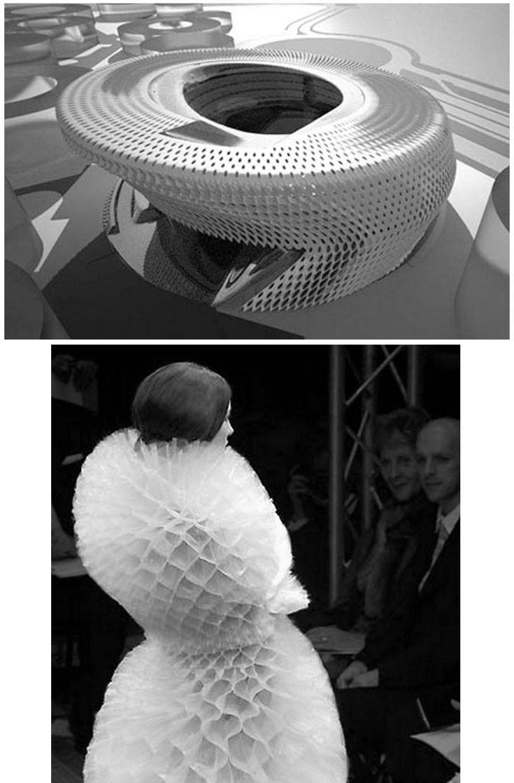 Zaha Hadid Architectural Fashion Pinterest