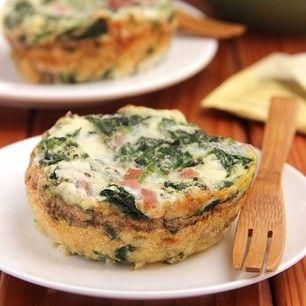 ... cheese #ham #pork #spinach #greens #cleaneating #glutenfree #breakfast