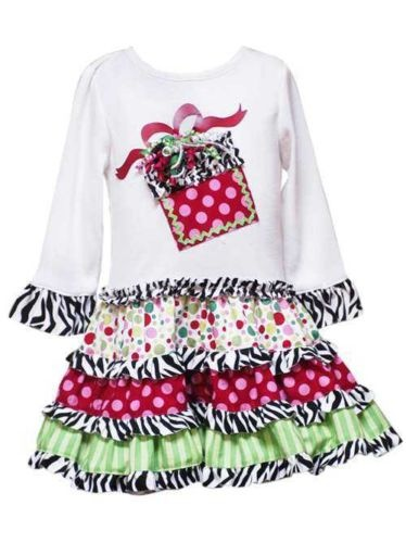 Toddler Christmas Dresses Boutique 110