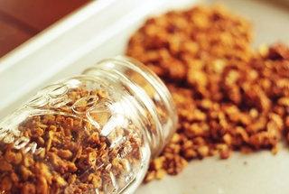 homemade skinny peanut butter granola | Food | Pinterest