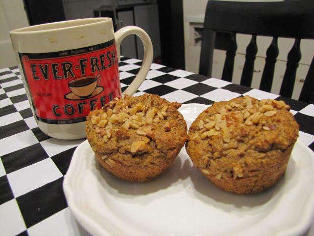 Pumpkin-Nut Muffins ~ Faithfulness Farm | Sweet stuff. Without sugar ...