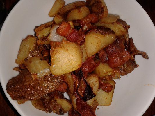 Potatoes with Bacon and Onions