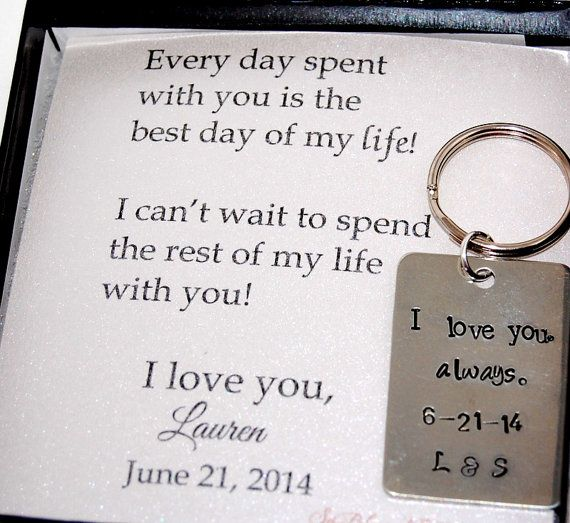 Wedding Gift For Groom On Wedding Day : To Groom From Bride gift, For your fiance from bride, Wedding day gift ...