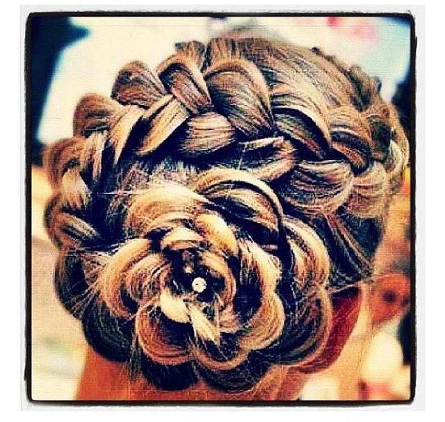pin dutch flower braid updo hairstyles on pinterest