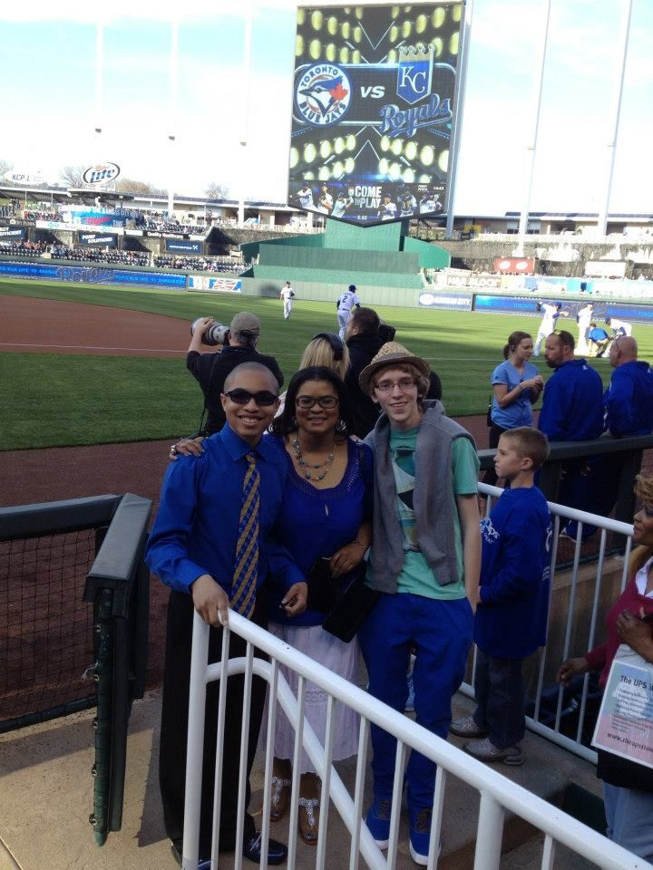 the royals game