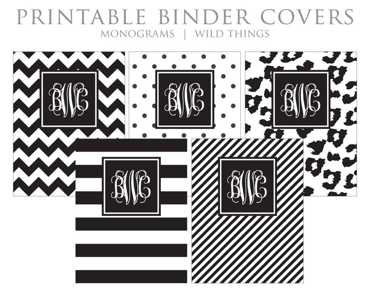 free custom binder cover template instant download oukasinfo