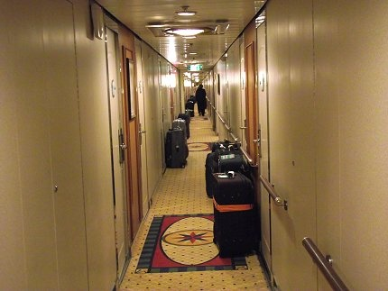 In many cases your luggage will await you on board your cruise ship!