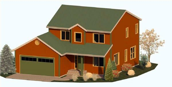 House Plans As Well Landscape Design For Farmhouse Style Homes