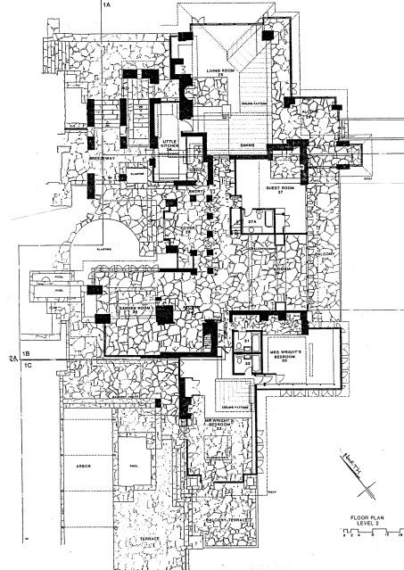 taliesin floor plan wright inspiring ideas pinterest