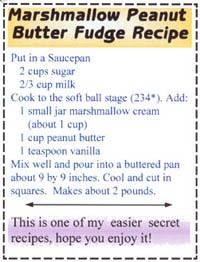 how to make peanut butter fudge with marshmallow fluff