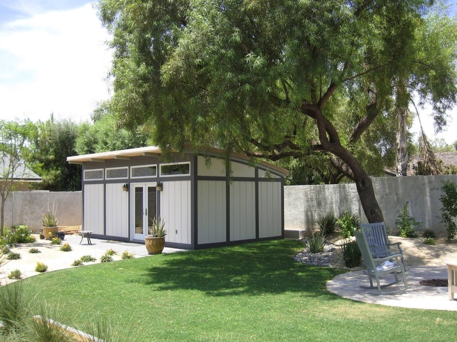 kit home backyard studio guest house small dwellings pinterest