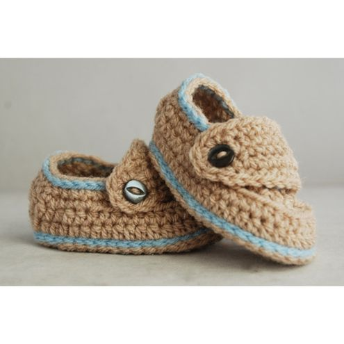 Crochet Pattern For Baby Boys Booties Quottrekquot On Etsy 551