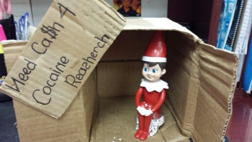 Bad elf on the shelf another laugh smile pinterest