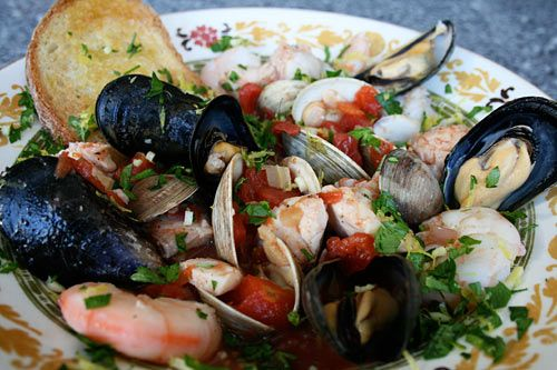 Trieste Style Seafood Soup-a beautiful soup to prepare for Feast of ...