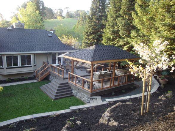 New Backyard Deck Outdoor Kitchen House Stuff Pinterest