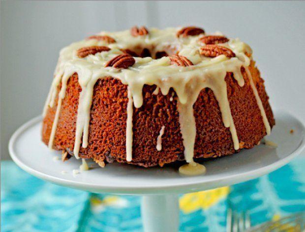 Gojee - Jack Daniel's Chocolate Chip-Praline Cake Recipe by Food ...