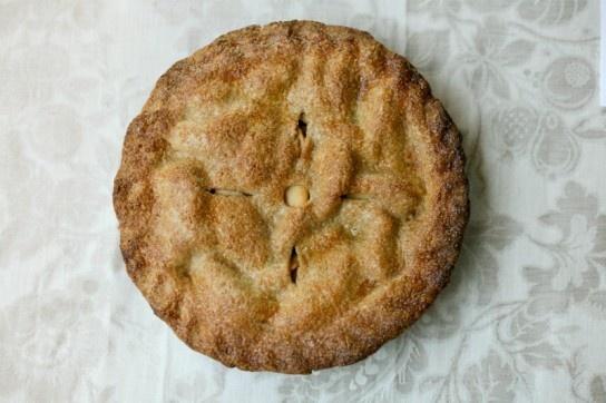 Hot Buttered Rum Apple Pie | Sugar Shack: Pies & Cheesecakes | Pinter ...