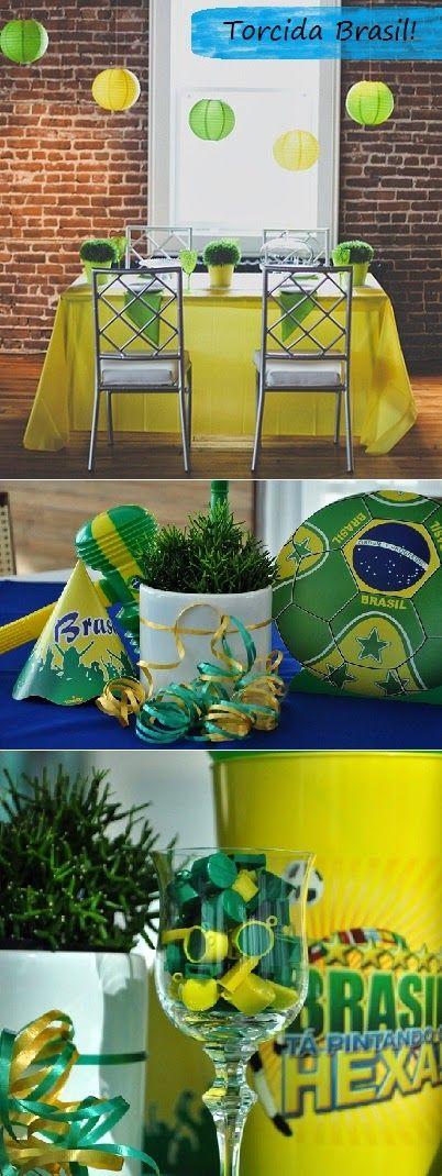 À mão com carinho: Decoração Copa do Mundo
