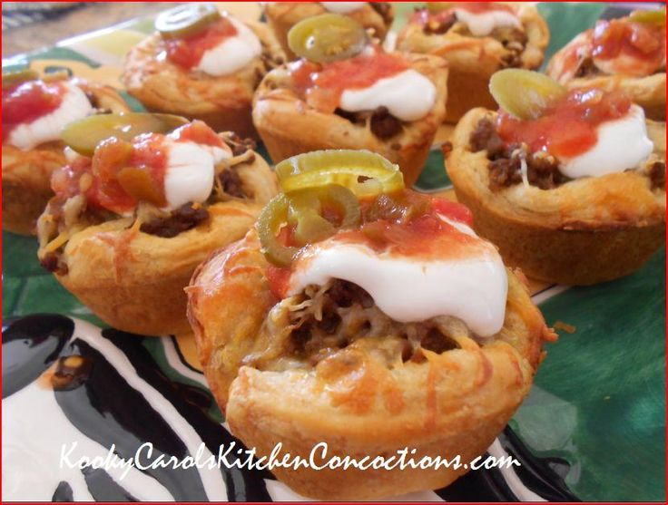 Cinco de Mayo Taco cups with Pillsbury Grands Biscuits! Delicious and ...