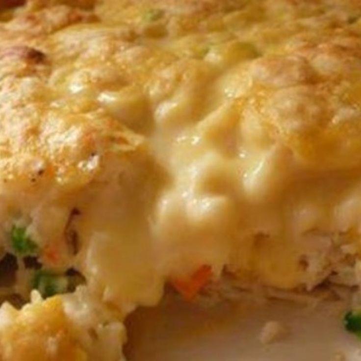 Chicken & Biscuit Casserole | Main Dishes | Pinterest