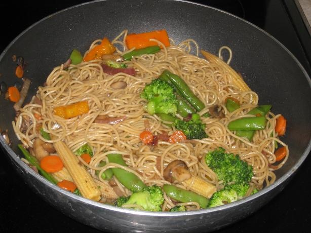 Vegetable Lo Mein | Recipe