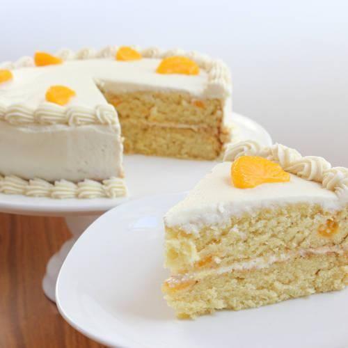 Mandarin Orange Cake {vegan} | Vegan Cakes | Pinterest