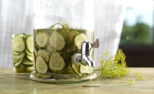 Homemade Kosher Dill Pickles | Who's Hungry?