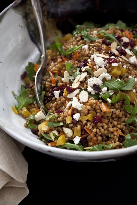 wheatberry salad | light weights | Pinterest