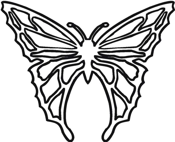 contemporary-butterfly-coloring-pages