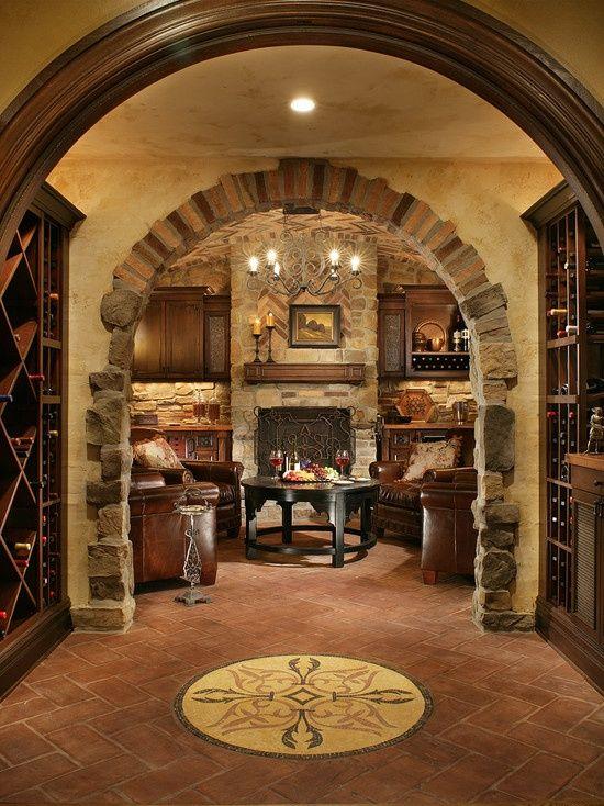 Wine room design wine room ideas calle pinterest - Wine room decorating ideas ...