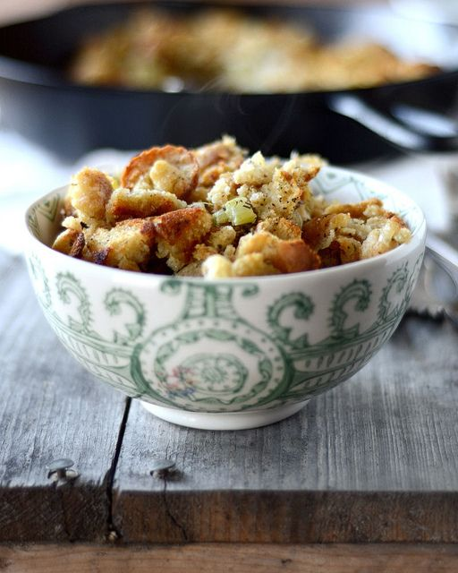 Homemade Sage Stuffing.....actually pretty good, I added a good bit of ...