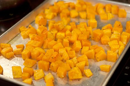 Butternut Squash with Pecans and Blue Cheese   Never Enough Thyme ...