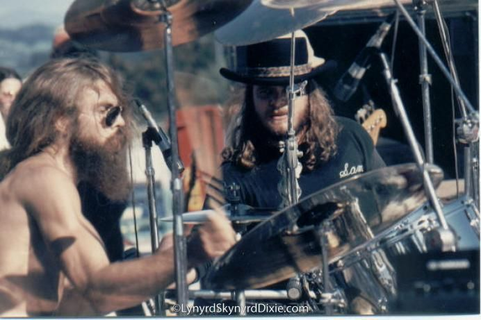 Artimus Pyle, Lynyrd Skynyrd drummer. Served 1967-71 as a SGT in aviation. He joined Lynyrd Skynyrd in 1974. He survived the 1977 plane crash that killed Ronnie Van Zant, Cassie Gaines and Steve Gaines