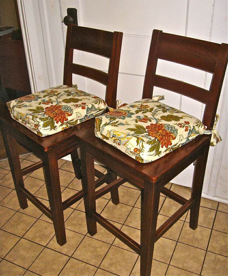 Kitchen Chair Cushions Pattern Sewing Projects Pinterest