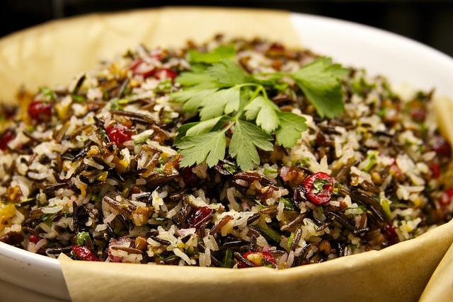 Wild Rice Salad   Fall Food and Fun   Pinterest