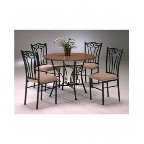 wood and metal dining room tables round kitchen dinette sets upholste
